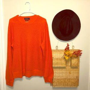 100% Cashmere Polo Sweater